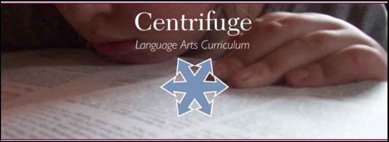 Centrifuge Language Arts Header